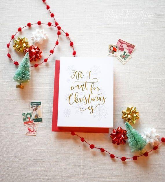 Weihnachten Brautjungfer Karte, Brautjungfer Vorschlag, Trauzeugin, Urlaubsideen, Goldfolie, Silberfolie   – Products