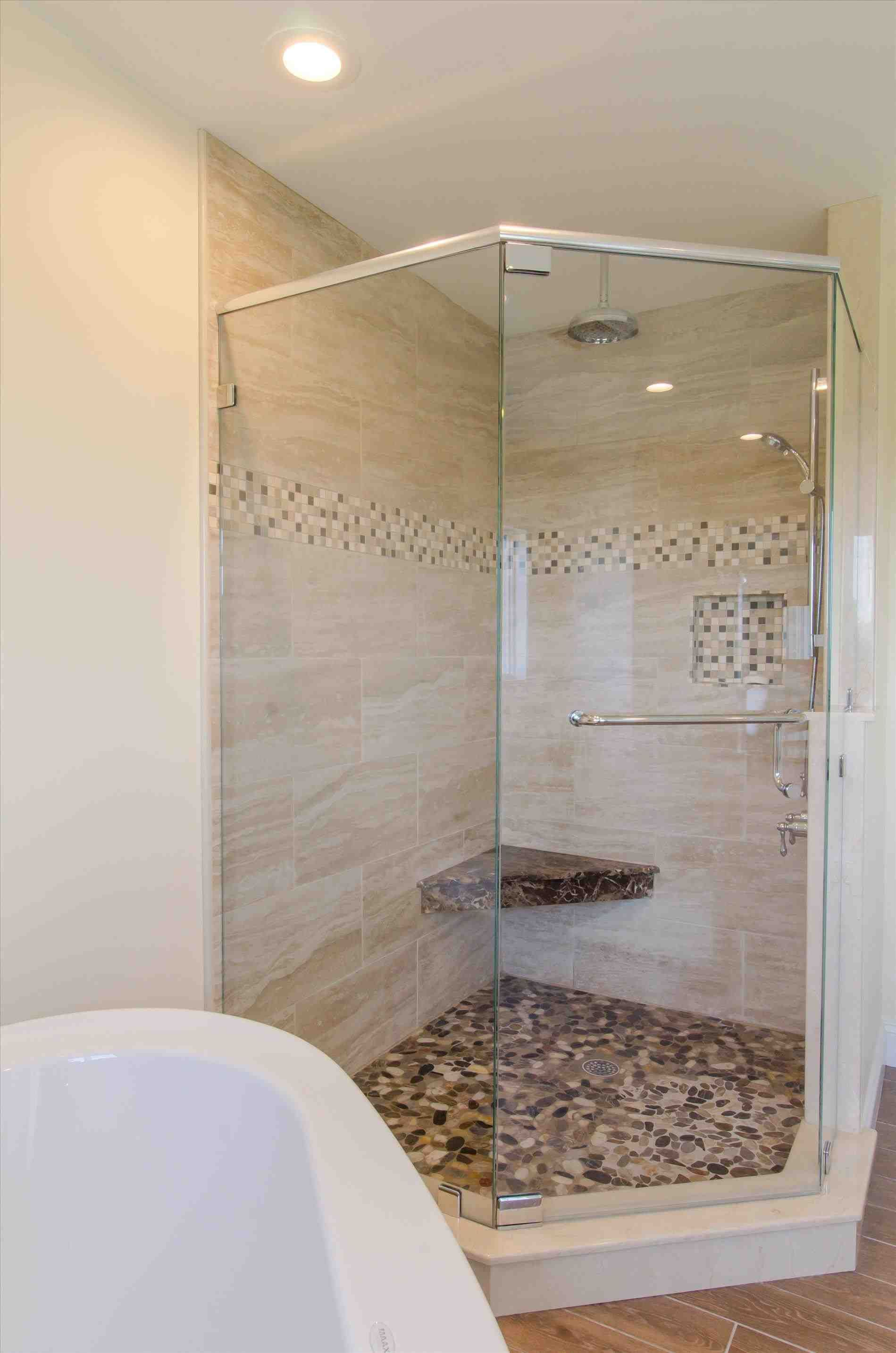 This Spa Tub With Shower  White Tile Bathroom And