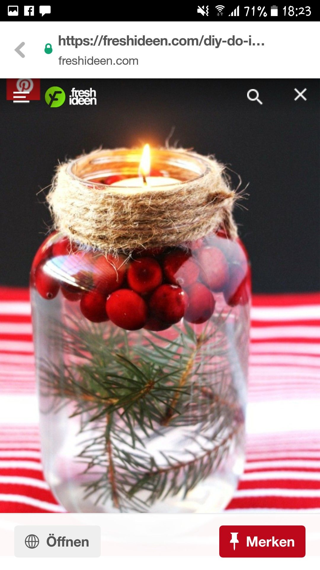 Pin von Elke auf 20 Xmas   Diy weihnachtsdekoration ...