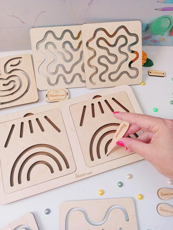 Set Stencils For Writing Learning Tracing Board Pre Writing Etsy In 2020 Pre Writing Stencil Crafts Stencils