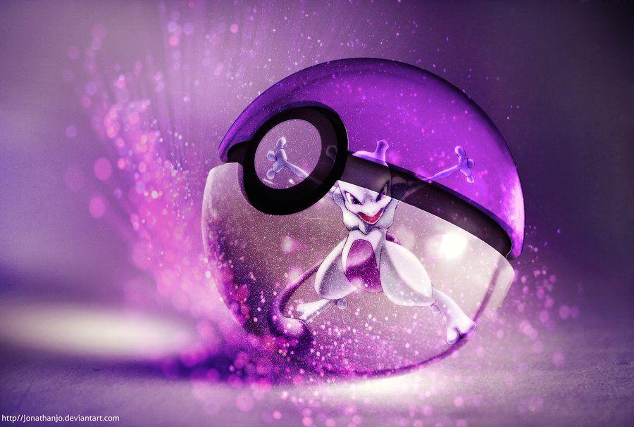 The Pokeball of Mewtwo byJonathan Le Drappier #Pokemon