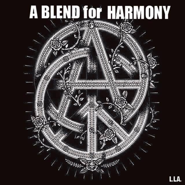 Anarchy Peace A Blend For Harmony Anarchist Tattoo Anarchy Sorry Mom Tattoo