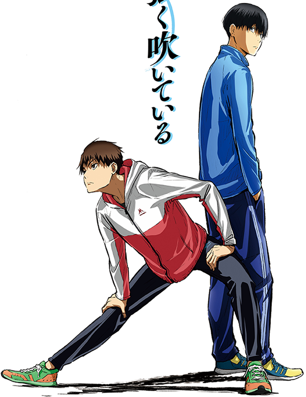 Primer tráiler del anime de Kaze ga Tsuyoku Fuiteiru - Ramen Para Dos