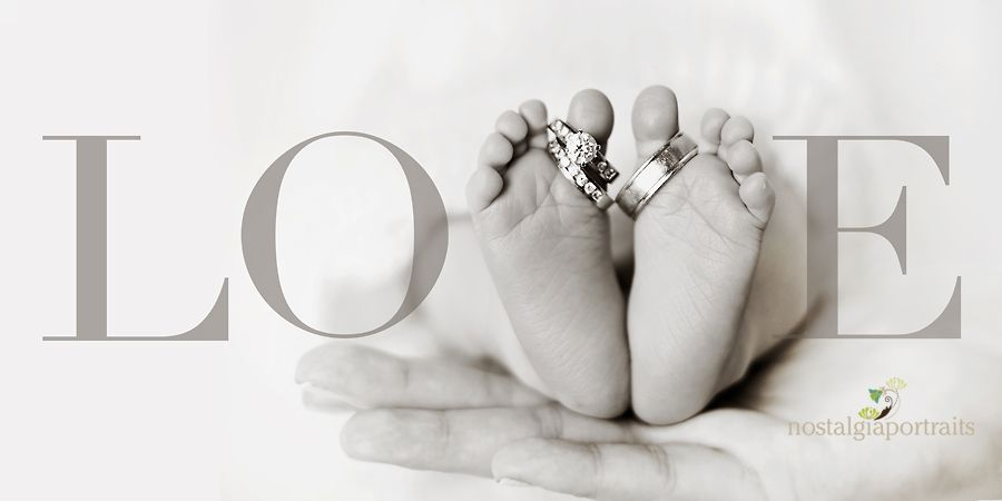 So sweet! Love incorporating the wedding rings.