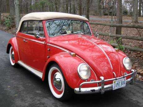 1965 Vw Beetle Restored By Father And Daughter Although Old The 1965 Volkswagen Beetle Car Looks Smooth Uniq Vw Super Beetle Vw Beetle Convertible Vw Beetles