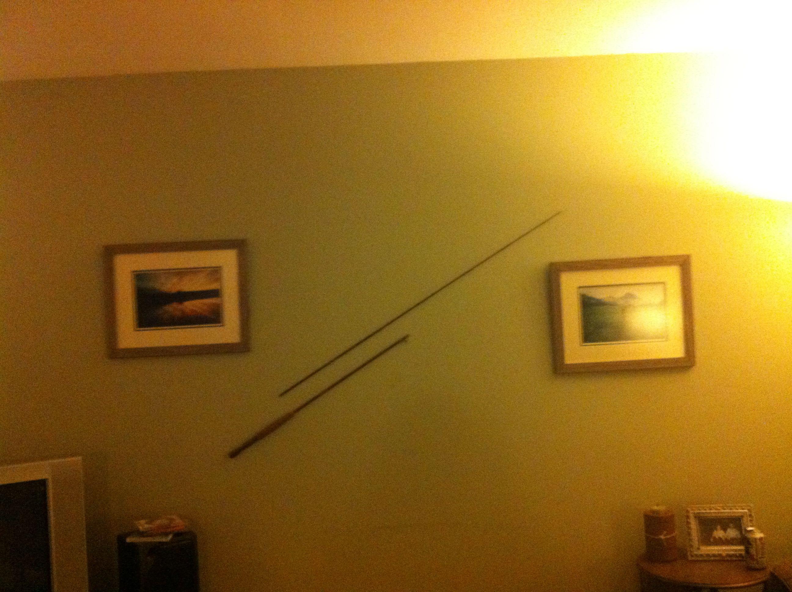 Creative re-use for a broken fishing rod   decor   Pinterest