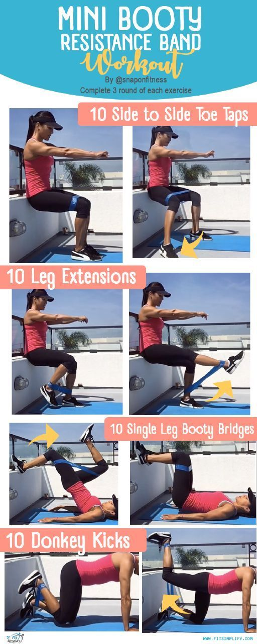 @FitSimplify - How to use resistance bands in this workout  *  *  #resistancebands  #fitnessbands #e...
