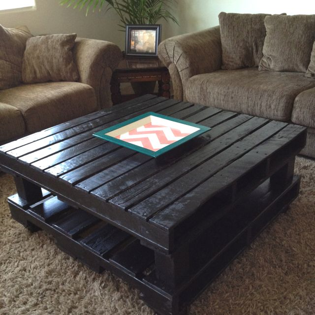Pallet Coffee Table Diy Furniture Revamp