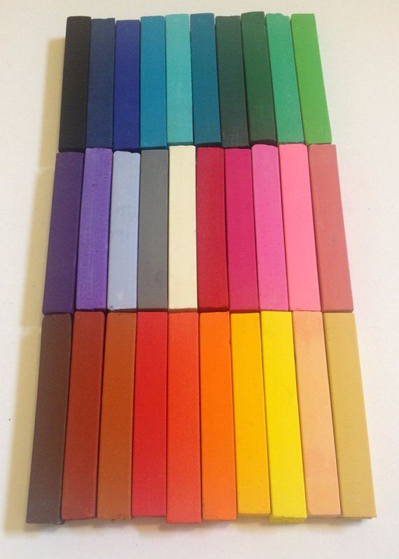 CLEARANCE 30 LARGE STICKS - Temporary Hair Chalks