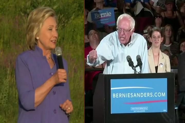 Sanders Edging Out Clinton For Democratic Top Spot - Northern Michigan's News Leader
