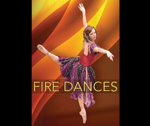 Poster Image From Fire Dances Photographer Peter Strand Dance Ballet Companies Marketing Photos