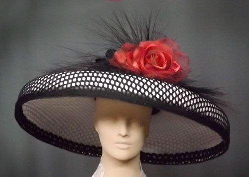 af4012e30f8 Custom hats millinery Kentucky Derby women s hats mens Gena Conti ...