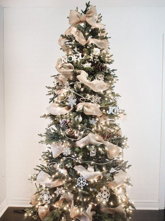 How to Put Ribbon Garland on a Christmas Tree | Hunker #christmastreeideas