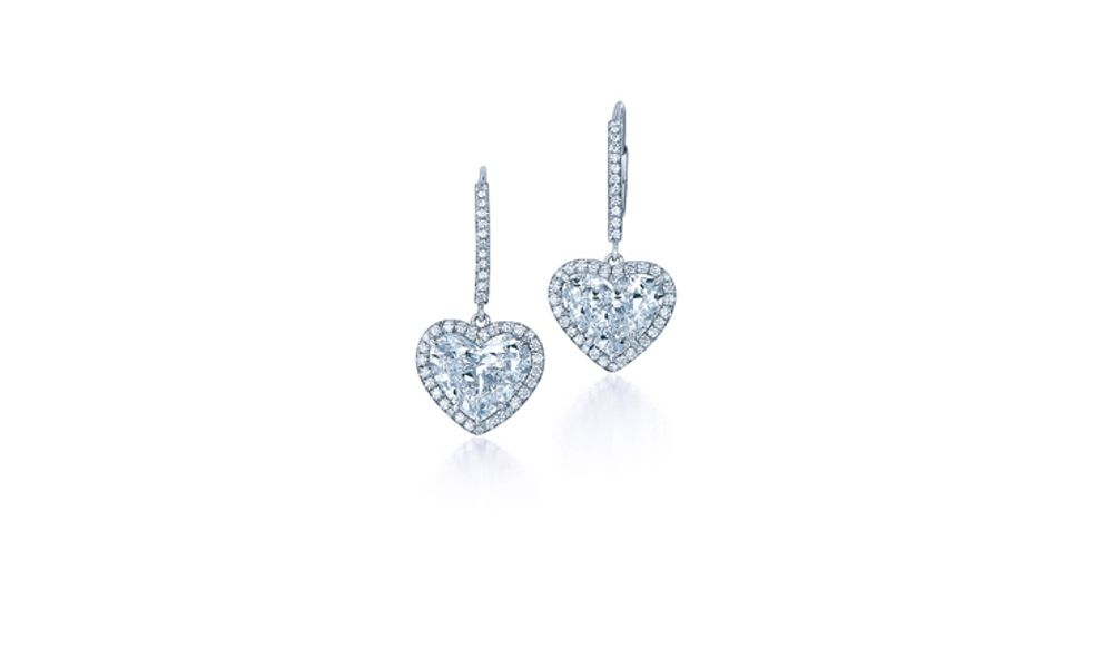 Diamond Heart Dangle Earrings See More Amazing Jewelry At Necklaceshimmers