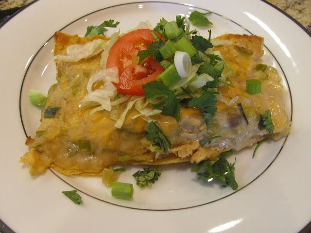 """Dinner and Devotional from With Blonde Ambition: Chicken and Spinach Enchiladas with Family devotional on """"Salt and Light"""""""