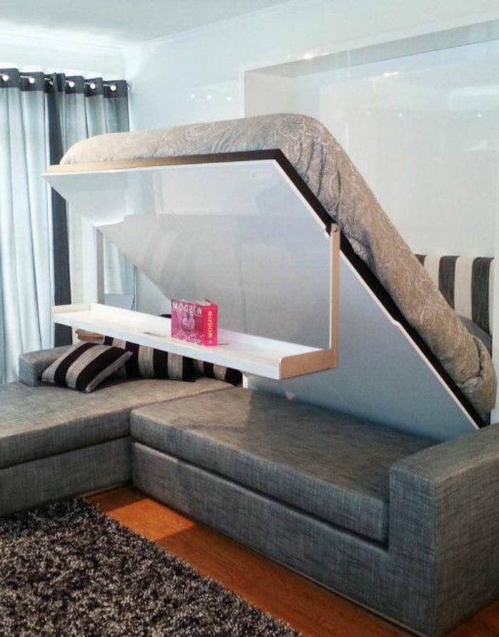 Idées En Photos Pour Comment Choisir Le Meilleur Lit Pliant - Formation decorateur interieur avec canape lit demontable