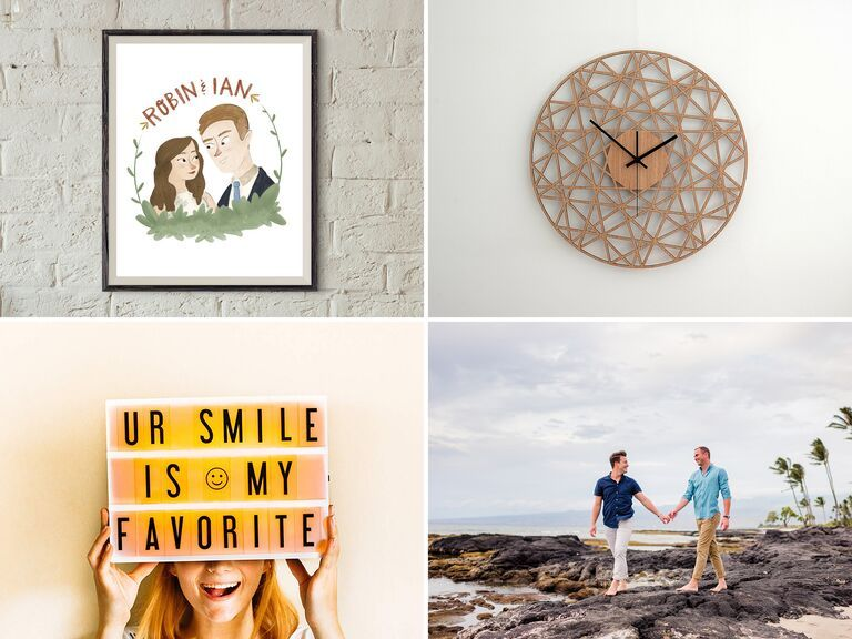 1 Year Anniversary Gifts For Your Husband Wife Or The Happy Couple First Wedding Anniversary Gift 1 Year Anniversary Gifts Paper Gifts Anniversary