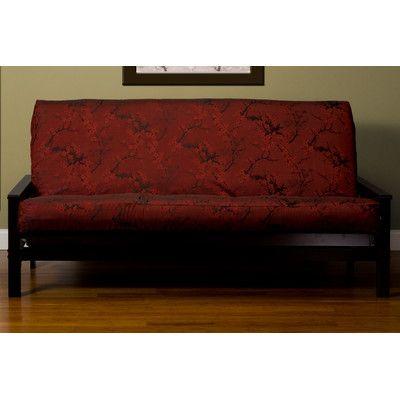 Cherry Blossom Futon Slipcover Size 7 In Full Upholstery Brick Http