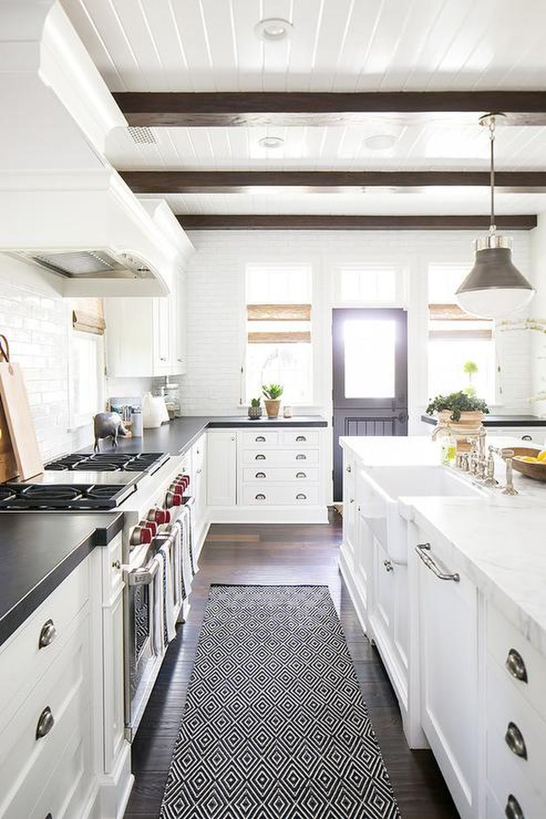Modern Farmhouse Kitchen Makeover On A Budget (02 in 2019