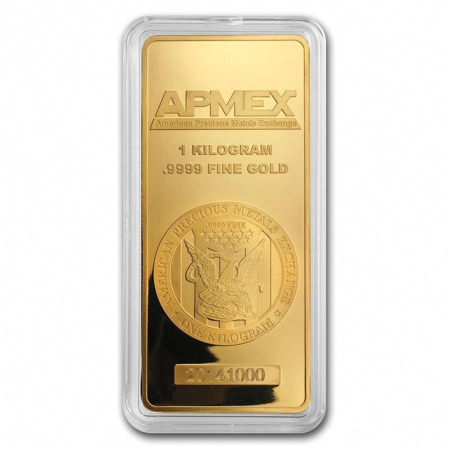1 Kilo Gold Bar Apmex In Capsule Goldankauf Haeger De Goldinvesting Gold Bullion Bars Gold Bullion Gold Coins