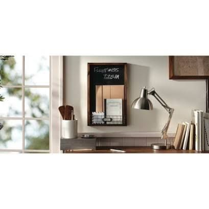 chalkboard with mail holder - Google Search