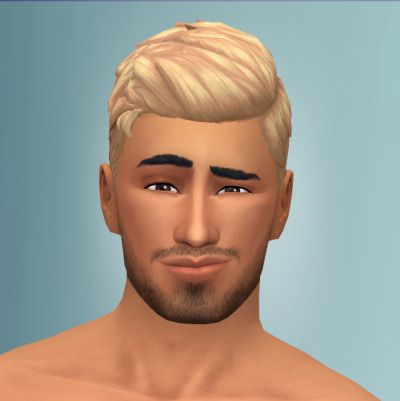 Out and About I Hair I 2 Versions I Male I by xldsims via