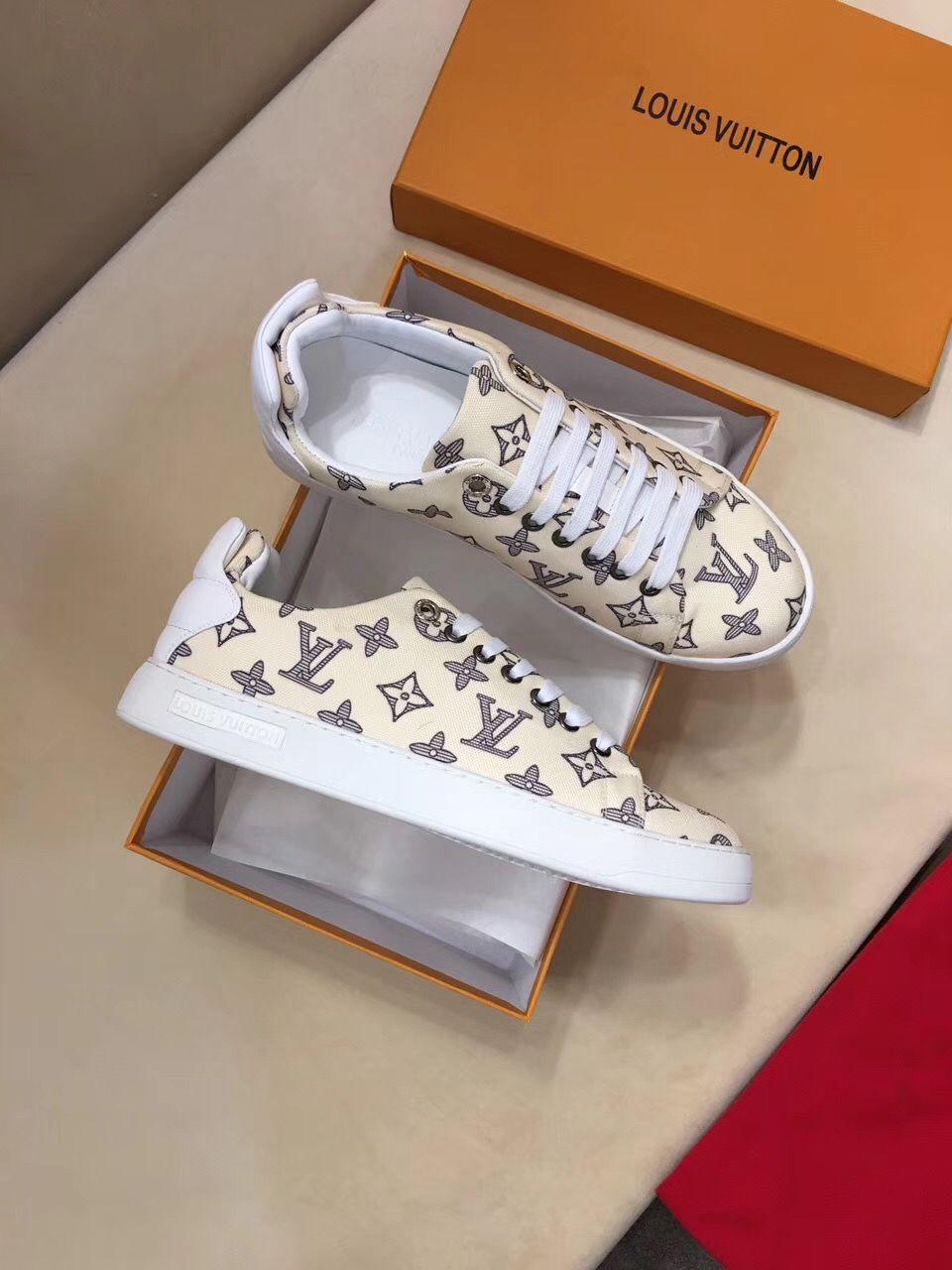 77f13fc27b8 LV sneaker for lady   Louis vuitton lady shoes   Pinterest   Sneakers,  Shoes and Lv sneakers