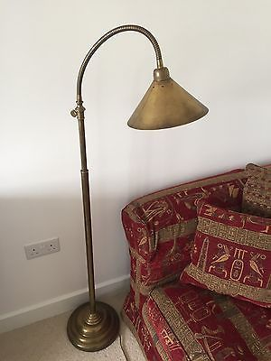 new product 65cf2 8d5b0 Laura-Ashley-Solid-Brass-Reading-Floor-Standing-Lamp ...