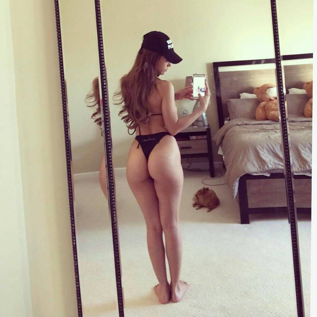 yanet garcia thong bikini butt ass in micro thongs almost nude