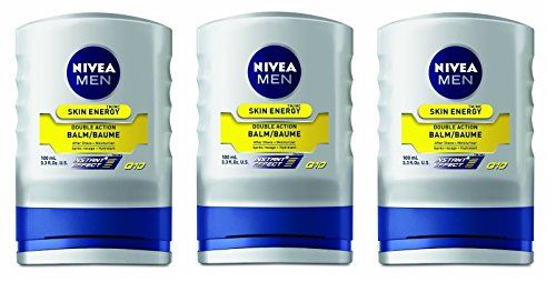 Nivea for Men Energy Double Action Balm 330 oz Pack of 3