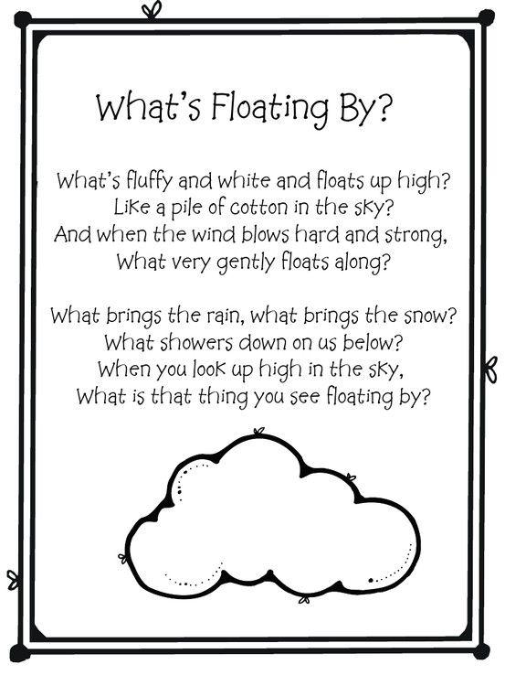 Cloud Rain Lightning Coloring Sheet Weather Coloringsheets