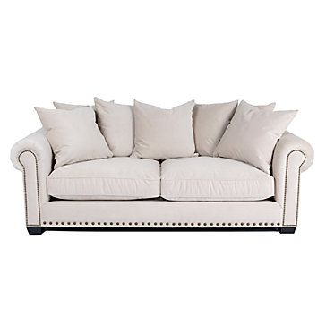 Z Gallerie Linden Sofa Buckwheat Love this sofa but