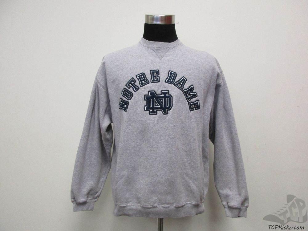 Gear Notre Dame Fighting Irish Crewneck Sweatshirt sz L Large SEWN University #Gear #NotreDameFightingIrish