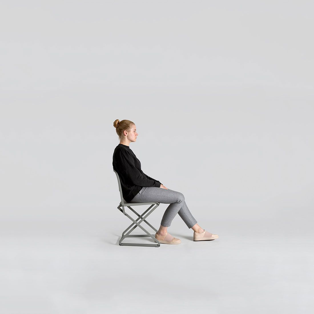 Remarkable Minimalist Folding Chair Dfc By Simon Frambach Furniture Ncnpc Chair Design For Home Ncnpcorg
