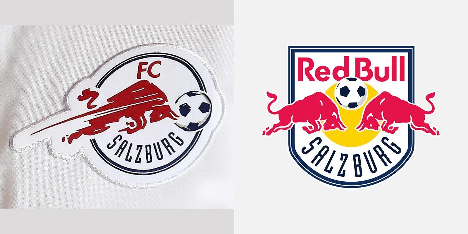 All New Red Bull Salzburg   Champions League Kits Logo Revealed Footy Headlines Branding Sport Pinterest Salzburg Champions League And Logos