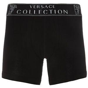Versace Mens Designer Black Boxer Trunks Underwear - Size Large / Gift for Him | eBay