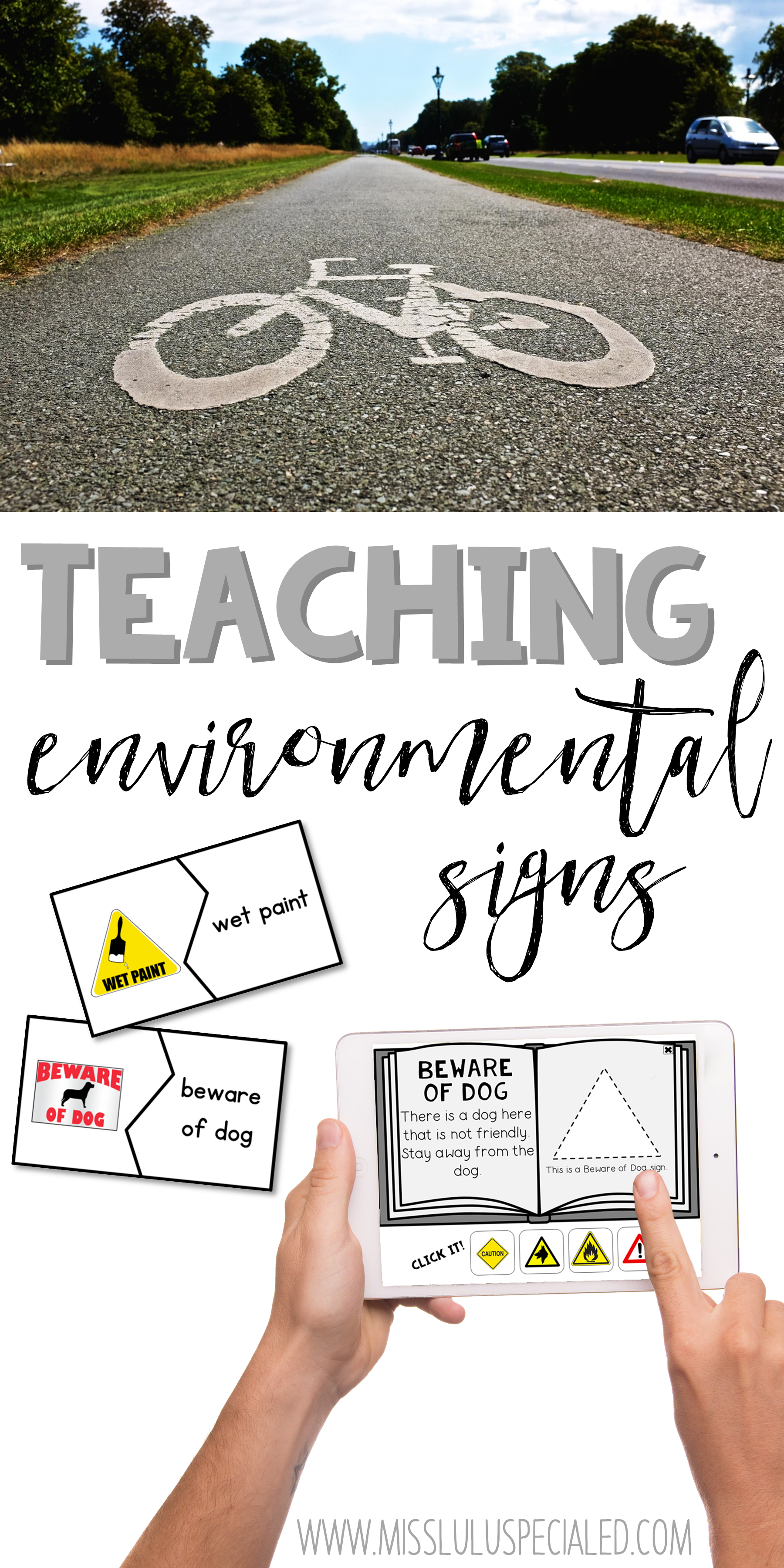 Teaching Environmental Signs Is A Functional And Fun