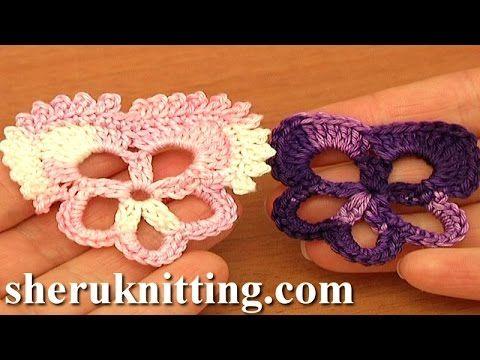 Pansy Flower Easy Crochet Tutorial 83 Free Crochet Flower Patterns ...