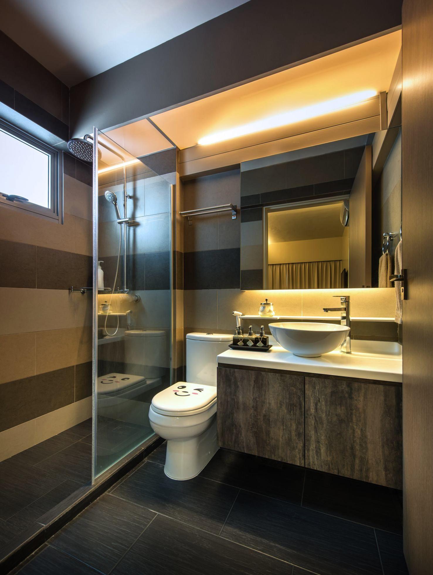 Interior Design By Rezt N Relax Of Singapore Superior 4 Ro Bathroom Design Bathroom Remodel Master Toilet Design