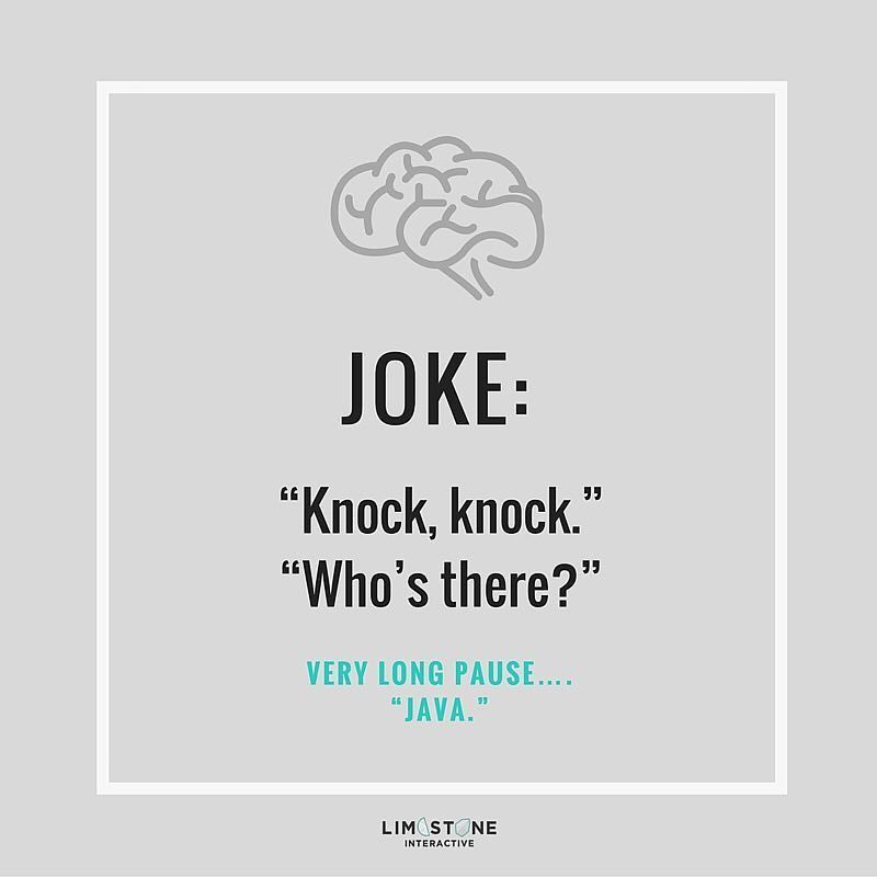 Knock knock Whou0027s there? Very long pause Java #joke #java - funny fax cover sheet