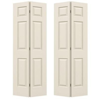 Jeld Wen 48 In X 79 In 6 Panel Textured Primed Molded Hollow Core