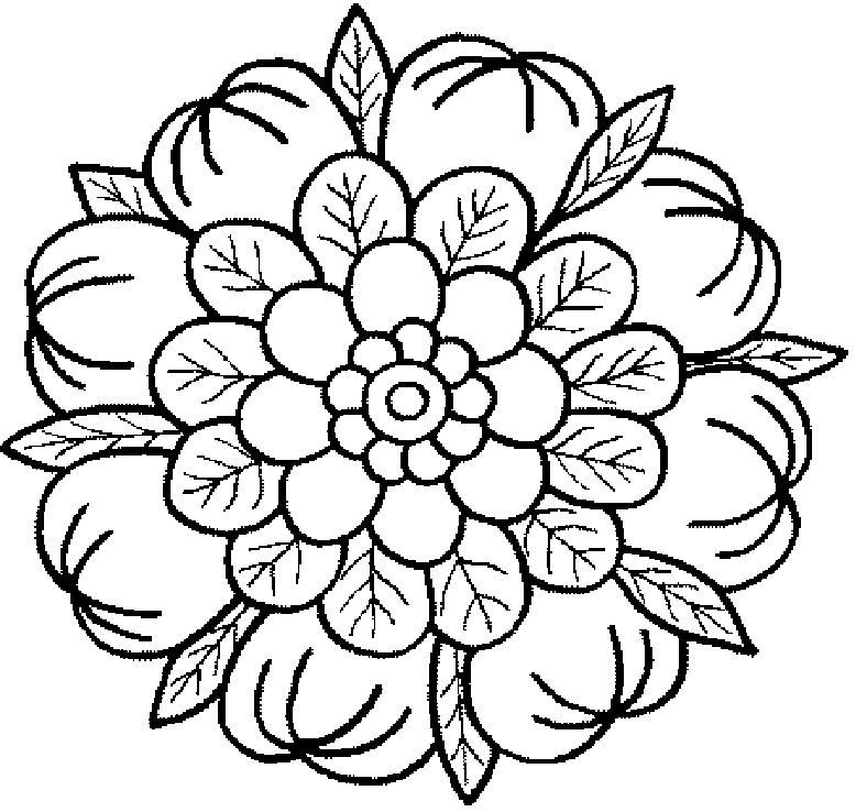 Dibujos Mandalas Para Colorear Pintar Gratis Mandala | doodle ...