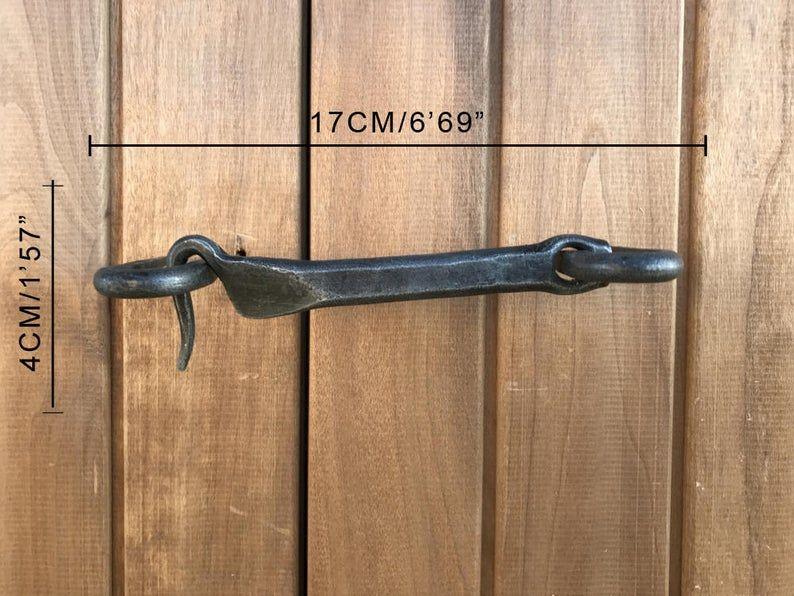Metal Door Locker Iron Latch Hook Metal Door Lock Hook And Eye