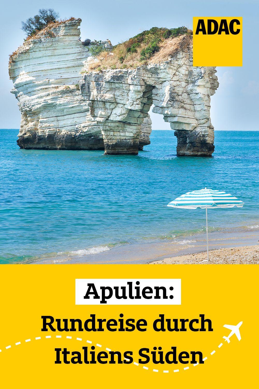 Apulien Auf Der Karte Der Stiefelabsatz Italiens Verzaubert Mit
