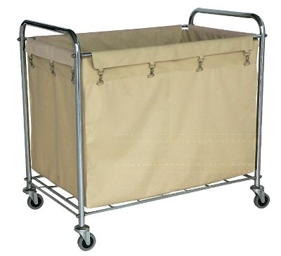 Luxor Furniture Hl14 Heavy Duty Laundry Cart W Removable Bag 36