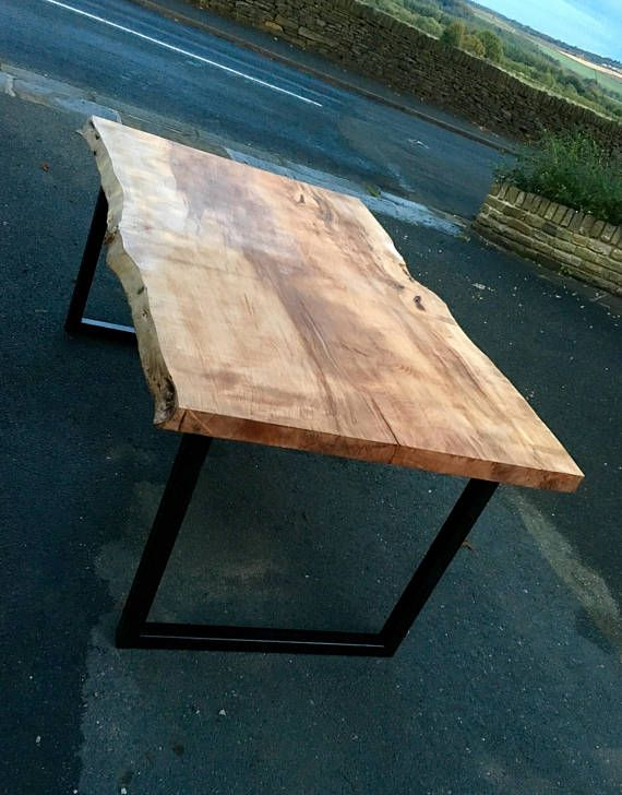 Miraculous Live Edge Dining Table Solid Wood Slab Table Top Made From A Home Remodeling Inspirations Cosmcuboardxyz