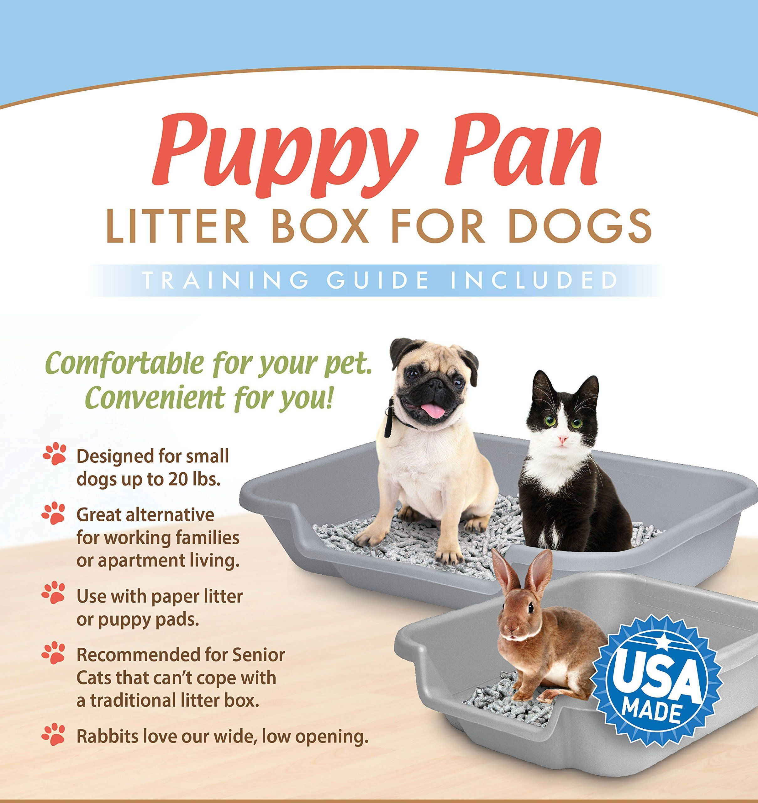 Puppygohere Dog Litter Pan By Litter Box Training Training Guide