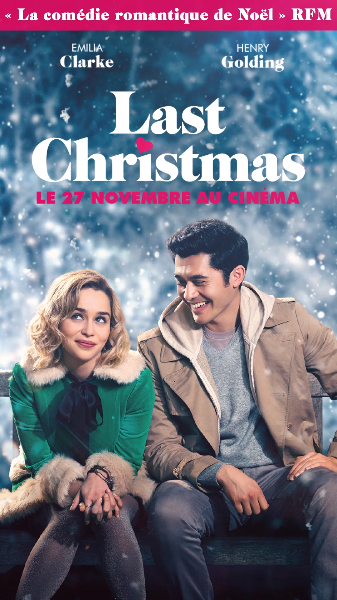 Last Christmas Le 27 Novembre Au Cinema In 2020 Last Christmas Funny Christmas Movies Christmas Movie Quotes