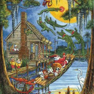 Cajun Christmas.Louisiana Cajun Christmas Love This Book Grew Up Listening