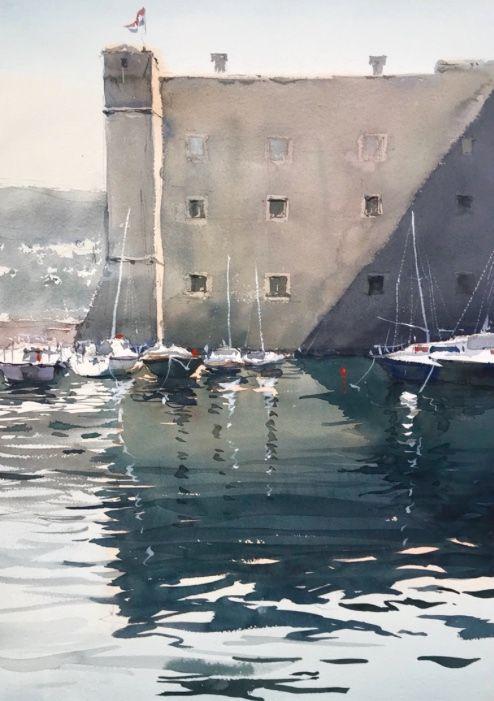 Kazuo kasai paesaggi marini nel 2019 pittura ad for Paesaggi marini dipinti
